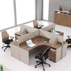 Cụm bàn làm việc văn phòng CB-HT02