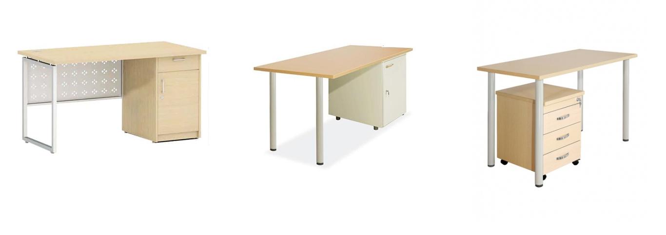 bàn làm việc chân sắt 01