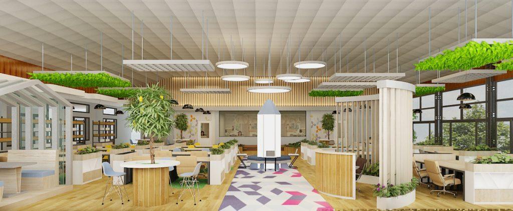 Thiết kế nội thất văn phòng hải phòng 1
