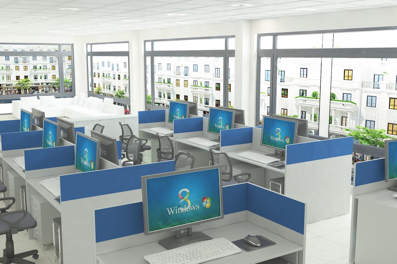 Thiết kế nội thất văn phòng hải phòng 4