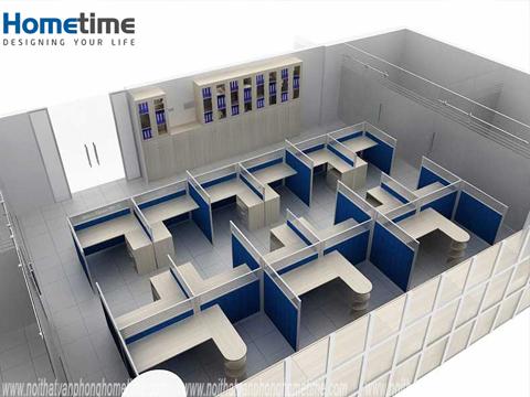 Thiết kế văn phòng làm việc ở hải phòng