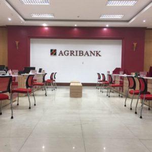 thi công nội thất ngân hàng agribank bac hải phòng