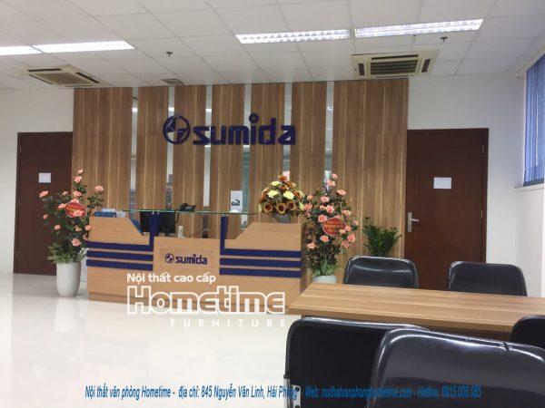 thi công nội thất văn phòng sumida Hải Phòng