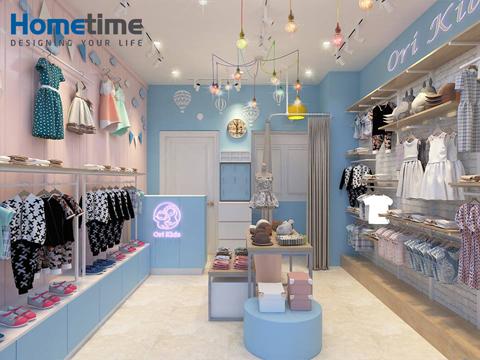 thiết kế shop quần áo trẻ em hải phòng