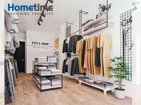 thiết kế shop quần áo nữ đẹp tại Hải Phòng