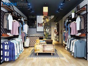 Địa chỉ thiết kế shop thời trang Nam đẹp tại Hải Phòng Hometime