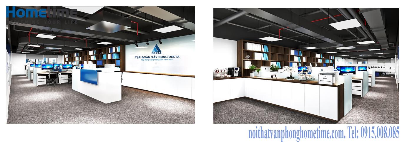 Sản xuất bàn ghế văn phòng tại KCN Đồ Sơn, Hải Phòng