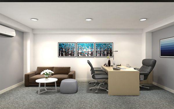 Thiết kế phòng làm việc giám đốc - PGD01