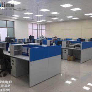 Hình ảnh thực tế thi công nội thất văn phòng công ty Vũ Hải chi nhánh Hải Phòng