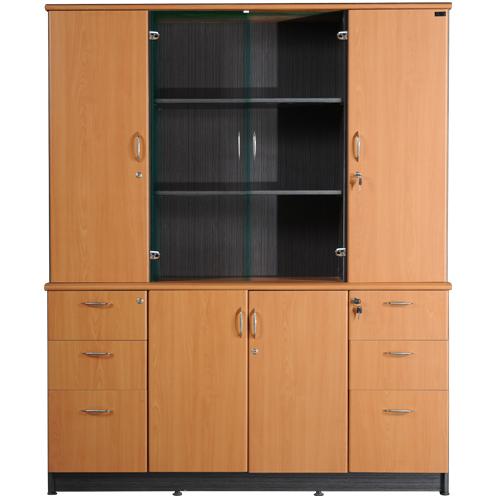 Tủ tài liệu gỗ Hòa Phát NT1960-4B