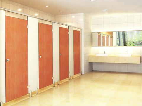 vách vệ sinh compact laminate Hải Phòng