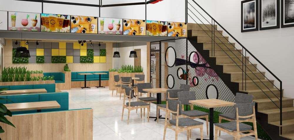 Trang trí không gian quán café đẹp