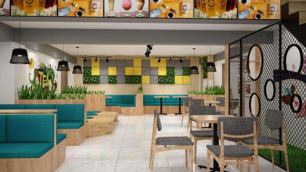 Thiết kế quán café đẹp, hiện đại, trẻ trung