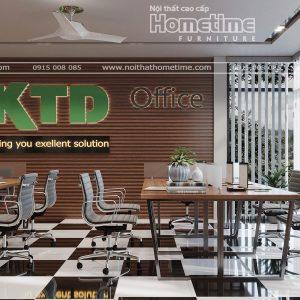 thiết kế nội thất văn phòng KTD Thủy Nguyên